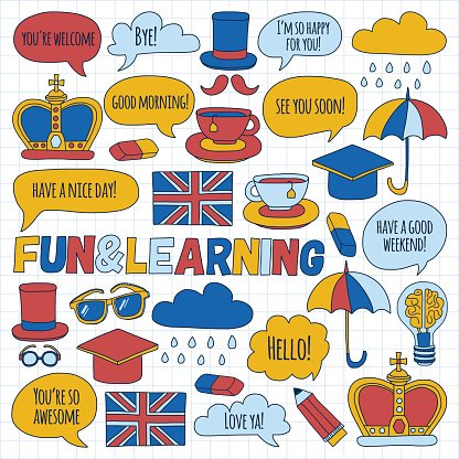 95321915-vector-doodle-patterns-english-courses-language-school