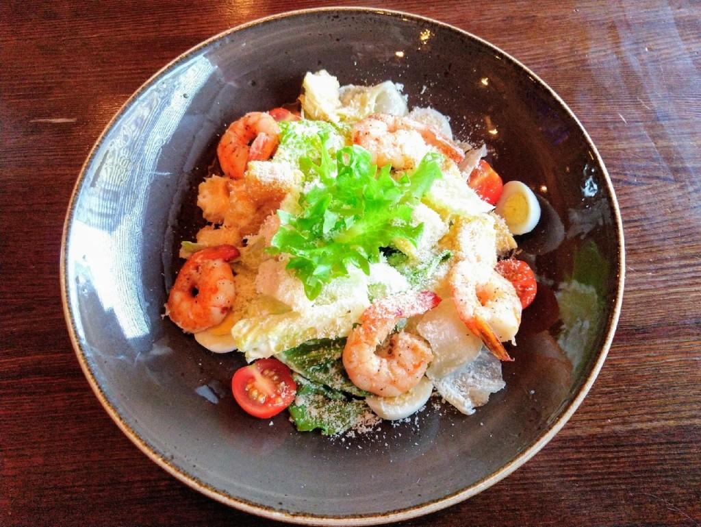Ave  Caesar  top 8 мест  где в Саранске можно попробовать салат  Цезарь  с креветками italiano