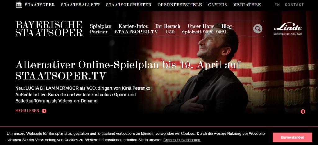 Домашняя афиша  2  чтобы карантин не показался адом баварскаяя опера