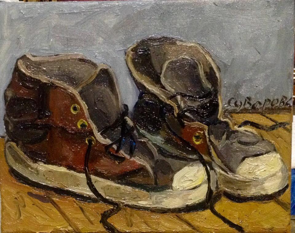 Художник Сергей Суворов   Меня не сильно интересуют современные художники  я больше хочу общаться с мертвыми  16