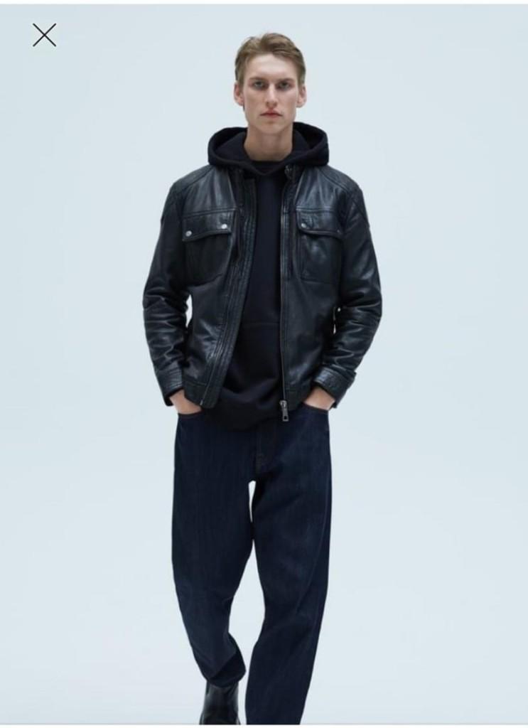 Что покупать в Интернете  30  вещей актуального гардероба зара кожаная куртка