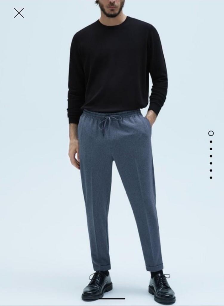 Что покупать в Интернете  30  вещей актуального гардероба зара спорт брюки