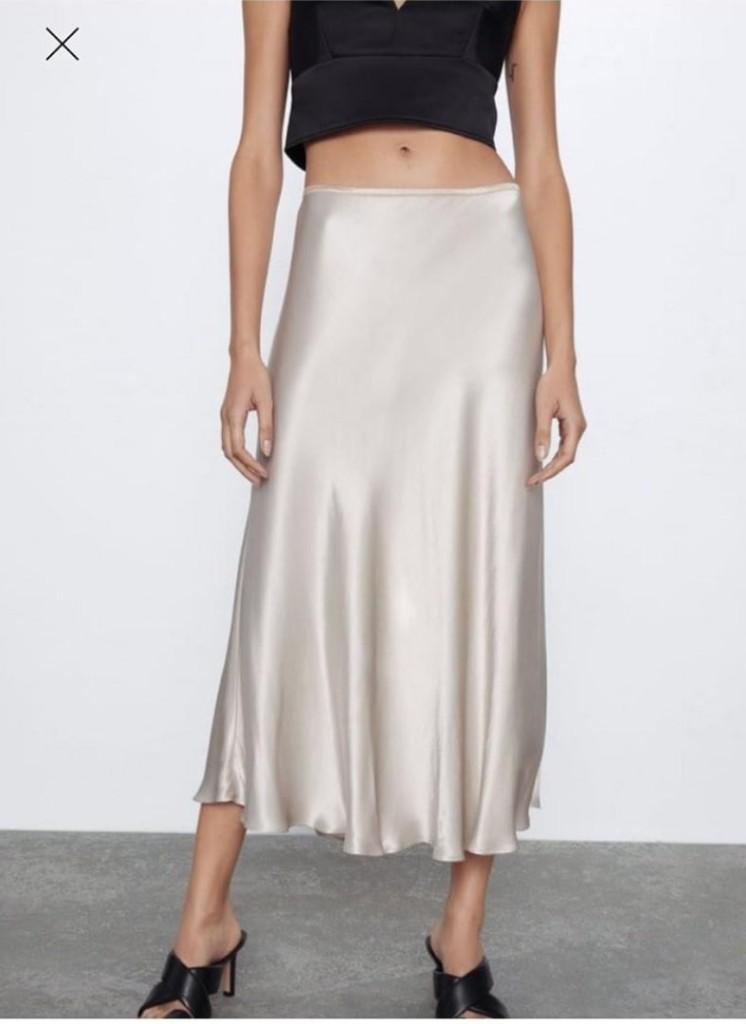 Что покупать в Интернете  30  вещей актуального гардероба зара юбка