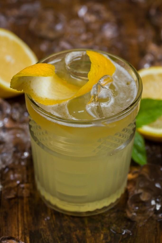 Имбирно лимонная мечта  12 рецептов алкогольных коктейлей пенициллин