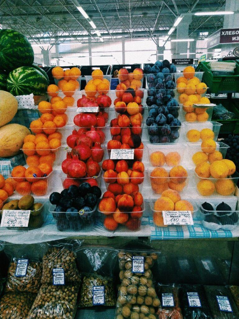 b Сезонные фрукты и овощи   b  покупаем и обогащаемся