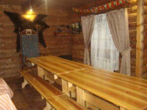 Потолок ледяной  дверь скрипучая  где снять домик на Новый год в Мордовии
