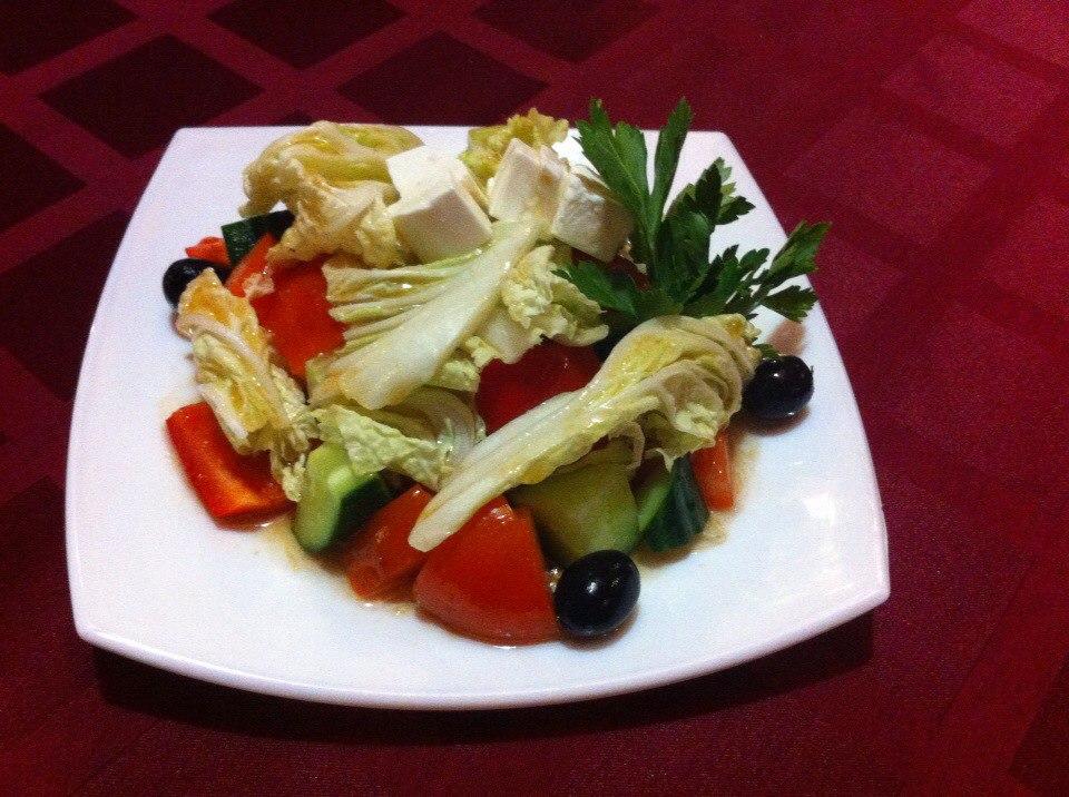 Делают nbsp ли   в nbsp Саранске    вкусный  b греческий салат  b  Маска