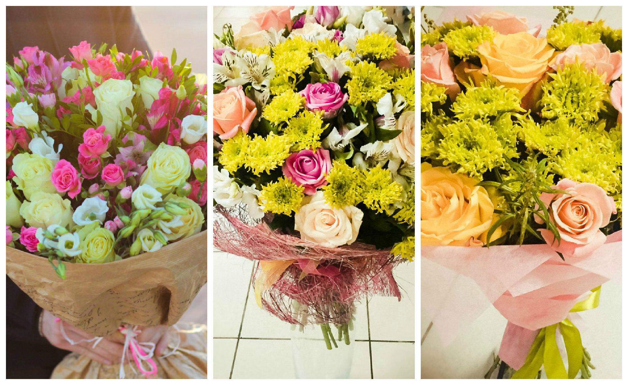 Где и за сколько    заказать доставку цветов в Саранске hloris