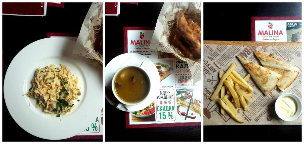 Лучший  b бизнес ланч  b  в городе  Часть 1 lunch_malina_mini