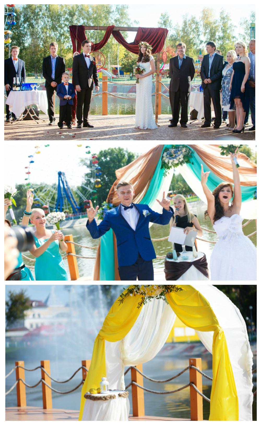 Самые красивые места   для свадебной регистрации    в nbsp Саранске naberezhnaya