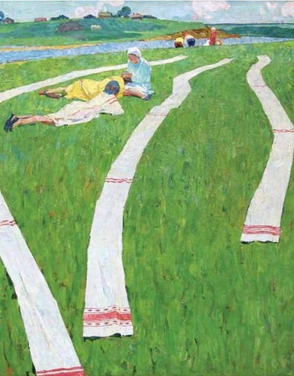 «Беление холстов», 1967 год