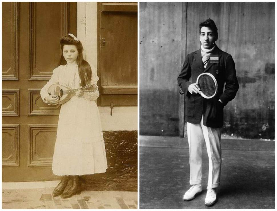 Франция. Справа — юный Рене Лакост, будущий теннисист и основатель бренда Lacoste