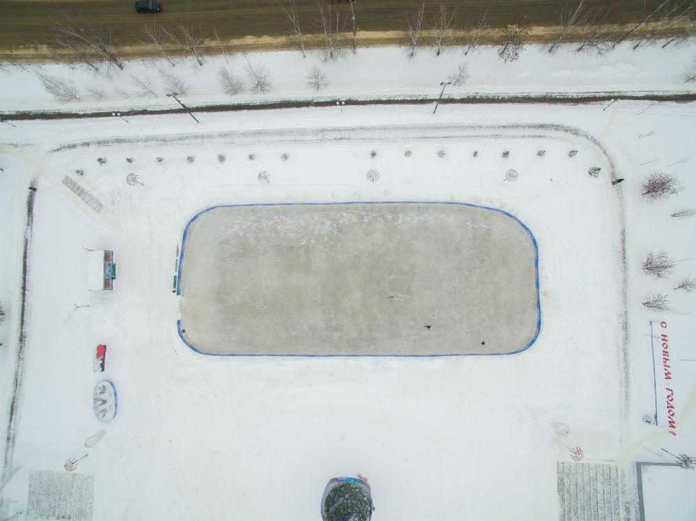Видно всё  где в Саранске покататься на коньках svet
