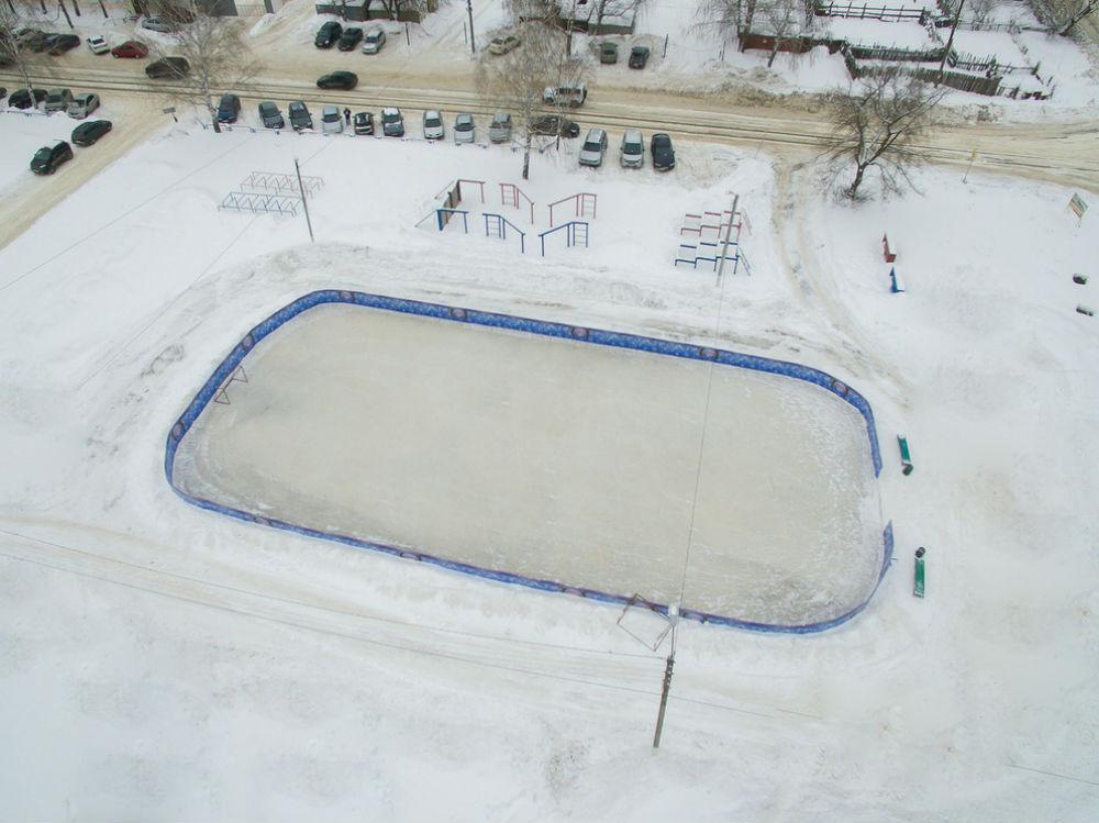 Видно всё  где в Саранске покататься на коньках tec2