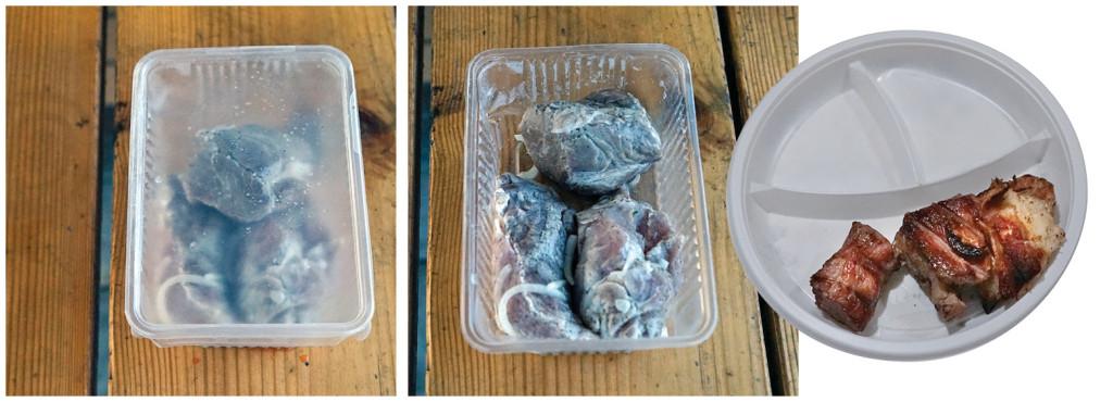 Шашлык свиной из шеи по рецепту Spar, «Спар»