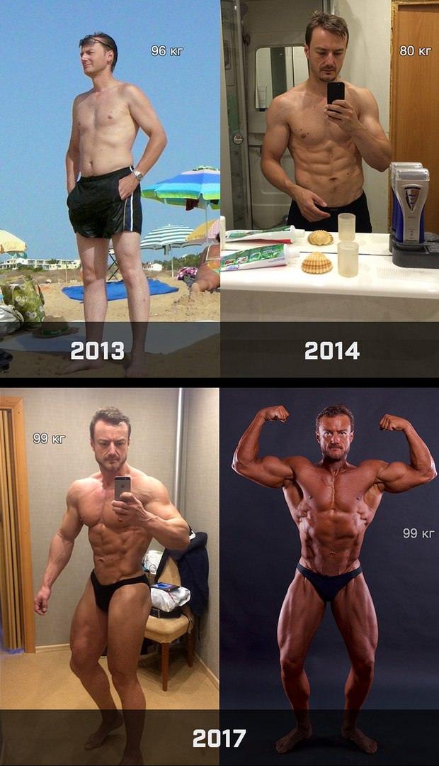 Владимир, чемпион IFBB 2017 (мастера), подопечный Евгения Козлова