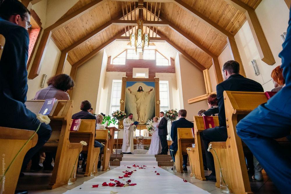 b И в горе  и в радости  b   как проходит   обряд венчания    у лютеран Фото из личного архива Михаила Алешкина, фотограф Вадим Березкин