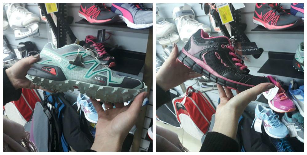 Слева направо: 1. Кроссовки для бега 2. Кроссовки для фитнеса