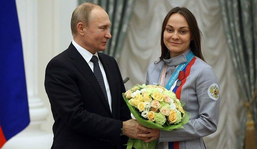 Анастасии Седовой в Кремле вручили медаль ордена «За заслуги перед Отечеством» II степени и ключи от BMW X4.