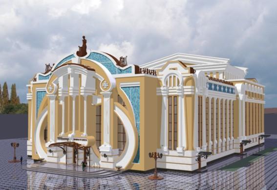 Театр оперы и балета по изначальному плану должен был выглядеть так