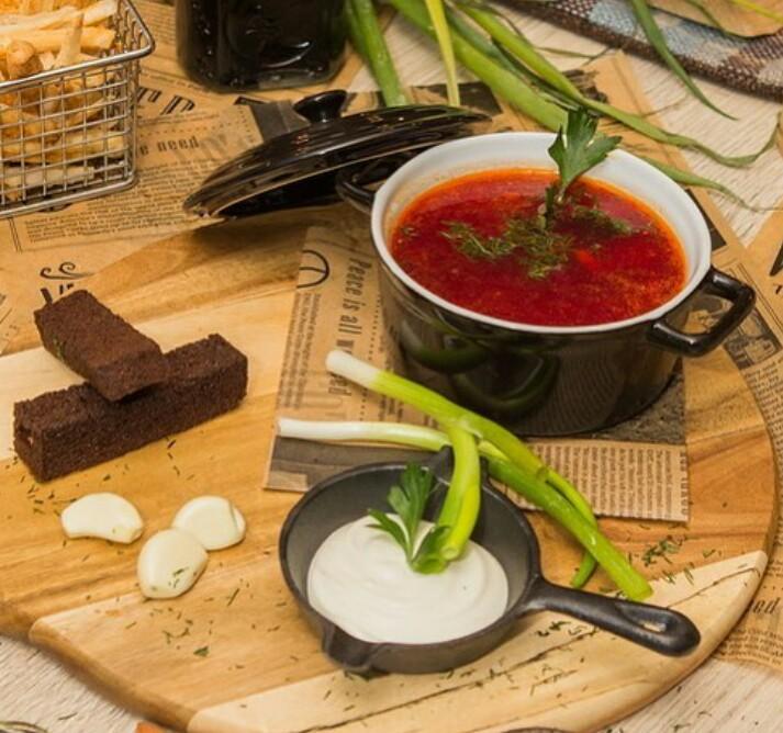 b Какие блюда  b  чаще всего заказывают в Саранске   i часть первая  i  bortsh