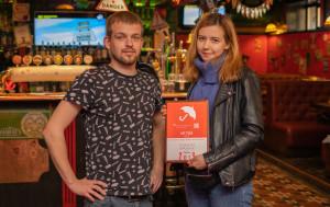 Итоги года  награждение и фотоотчёт harats-pub