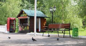 Вкусный дайджест  чем можно перекусить в Пушкинском парке pita