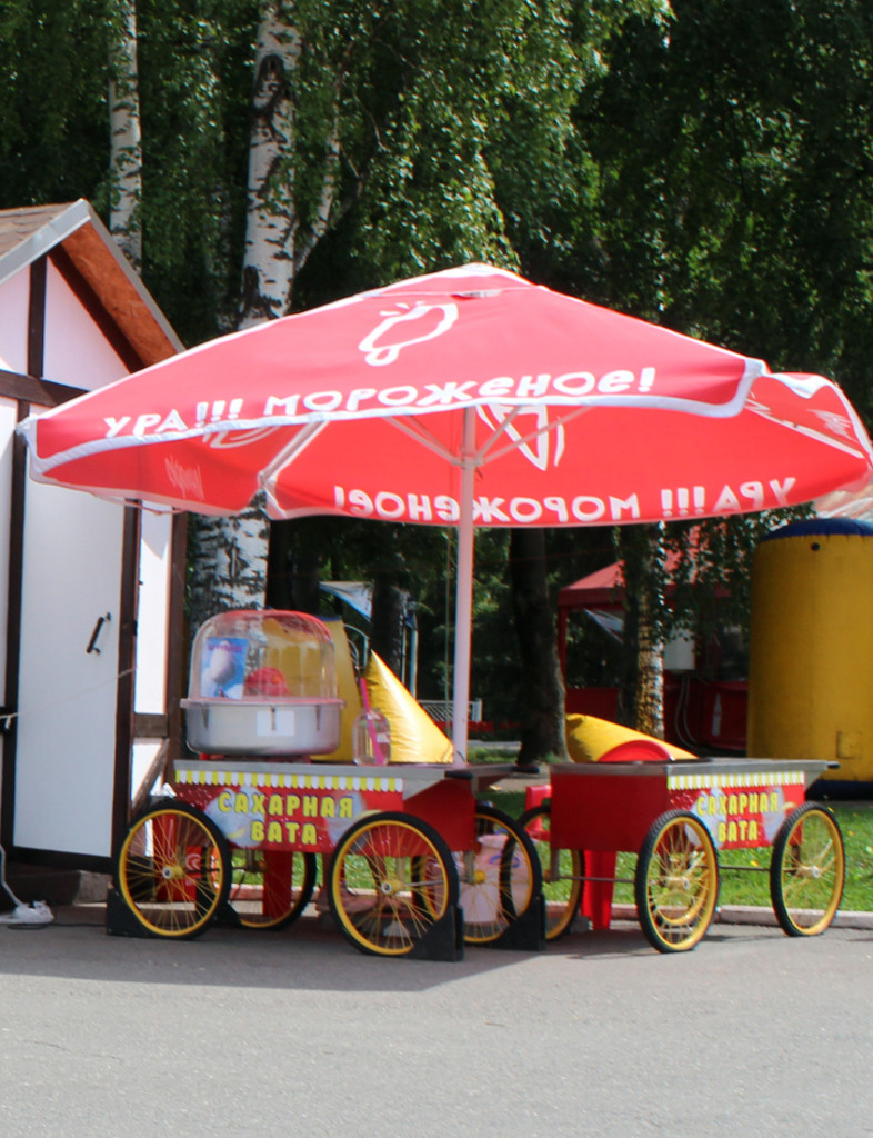 Вкусный дайджест  чем можно перекусить в Пушкинском парке vata
