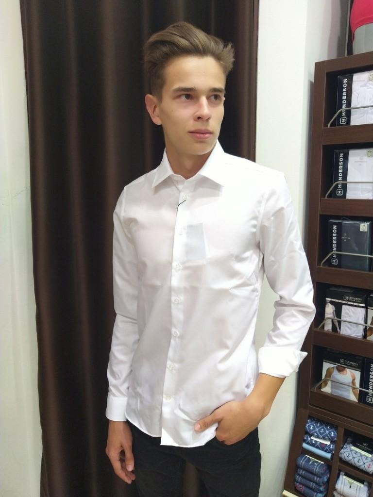 Классика жанра  top 8 магазинов  где в Саранске можно купить мужскую белую рубашку  henderson