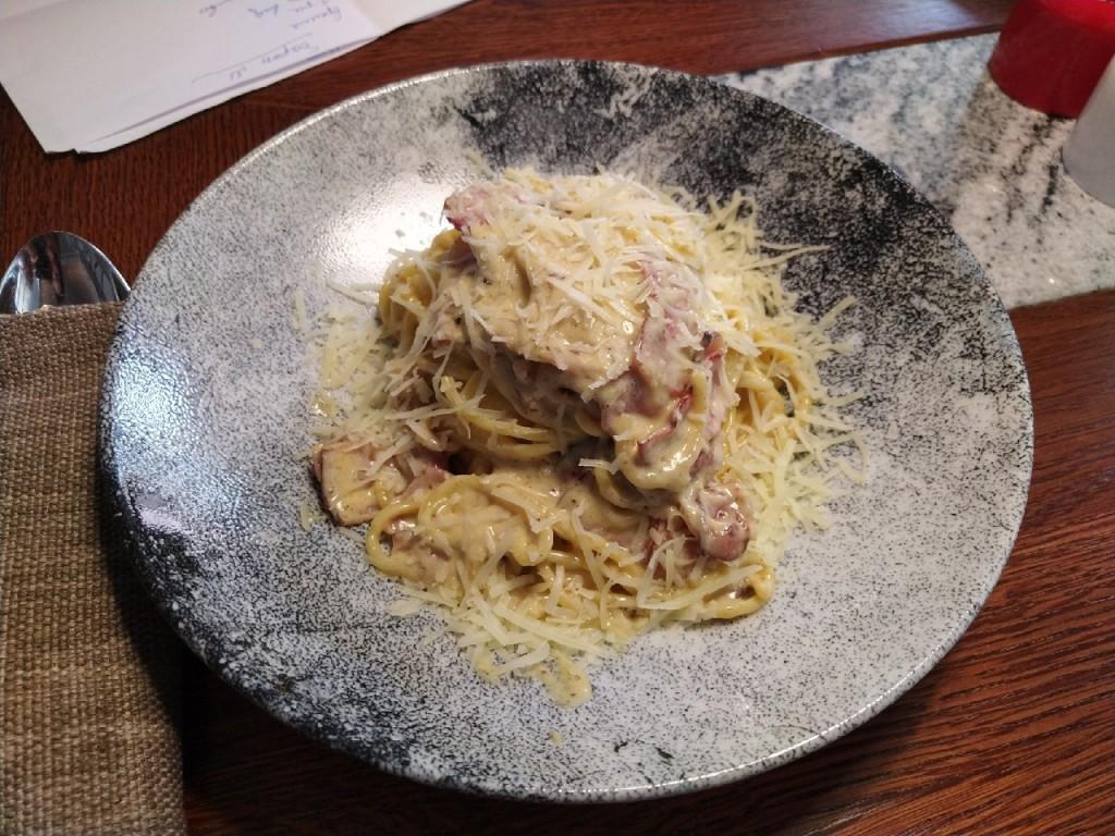 Кусочек Италии в Мордовии  top 8 мест  где в Саранске попробовать итальяно мордовскую карбонару karrara