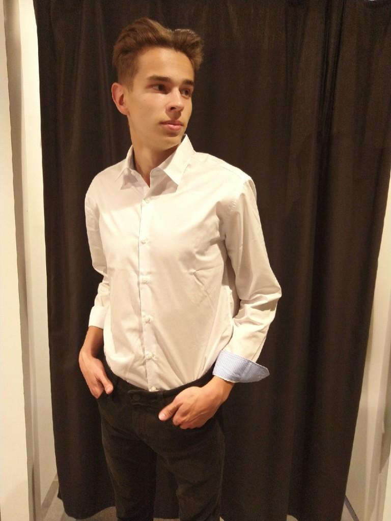 Классика жанра  top 8 магазинов  где в Саранске можно купить мужскую белую рубашку  ostin2