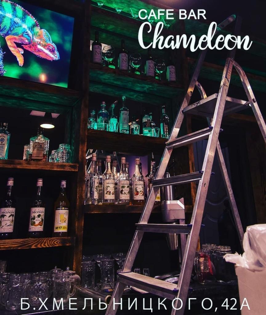 Открытия   октября    chameleon