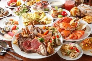 hleb-maso-krab-desert-susi-moreprodukty-assorti-bluda-omlet